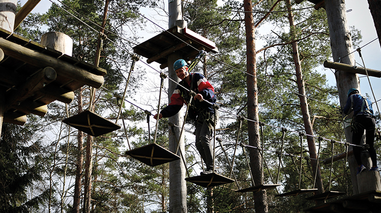 Adventure Workshop: High Ropes Course & Arrow Tag