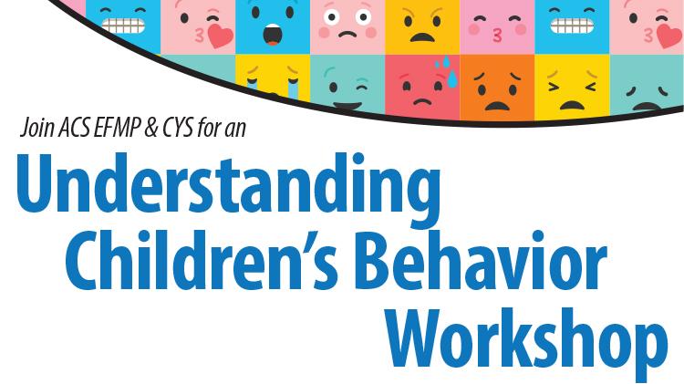 Understanding Children's Behavior Workshop