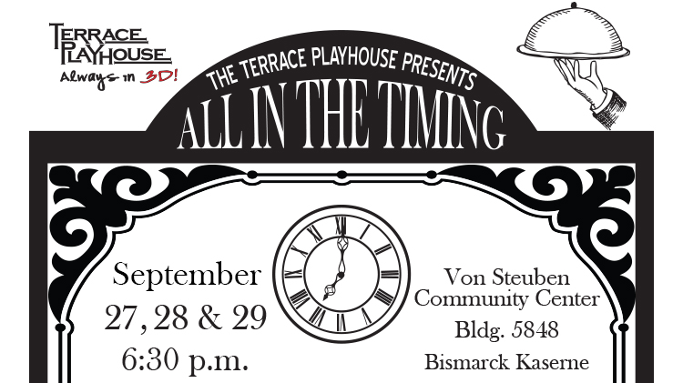 Dinner Theater - All in the Timing