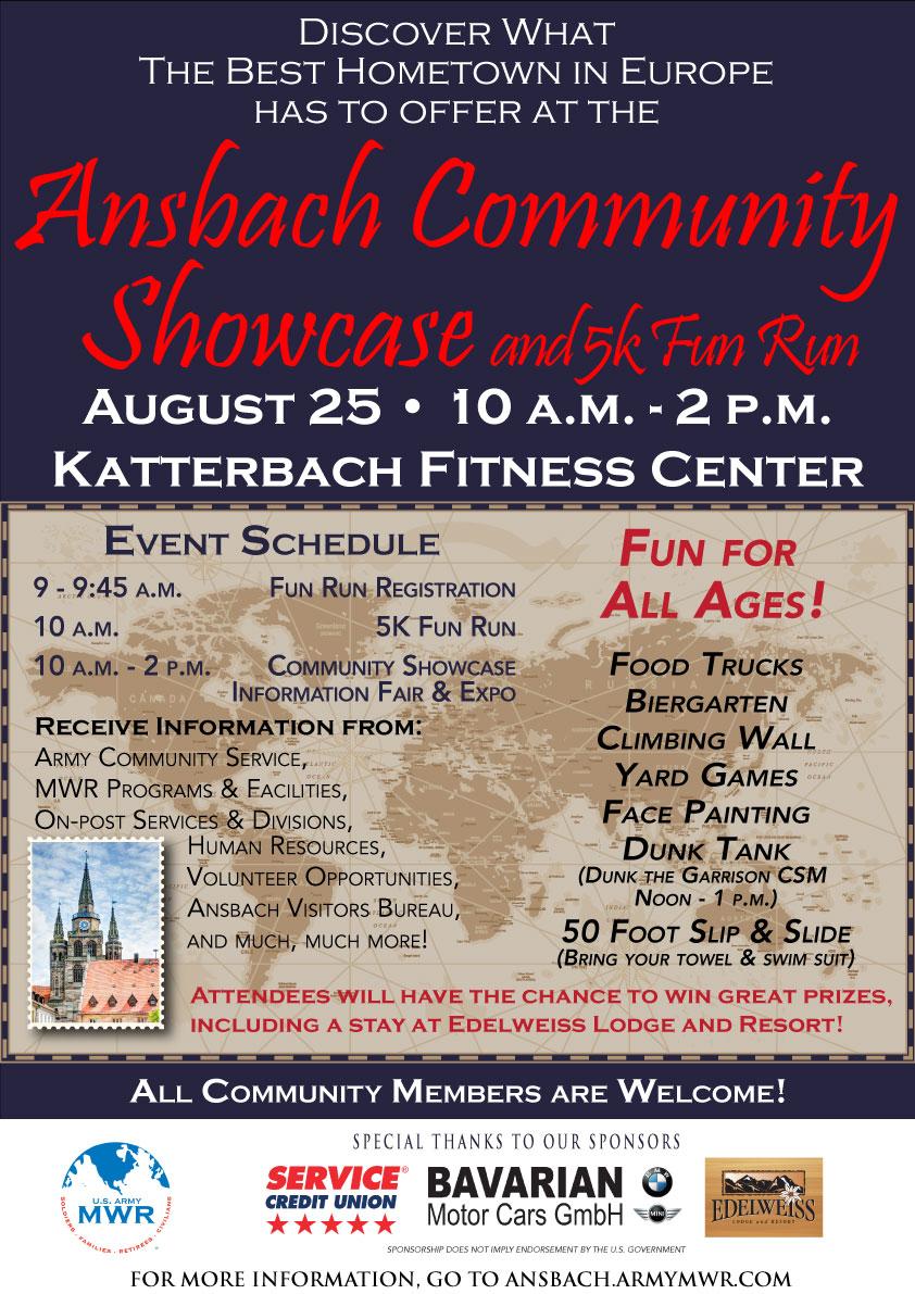 Ansbach Community Showcase