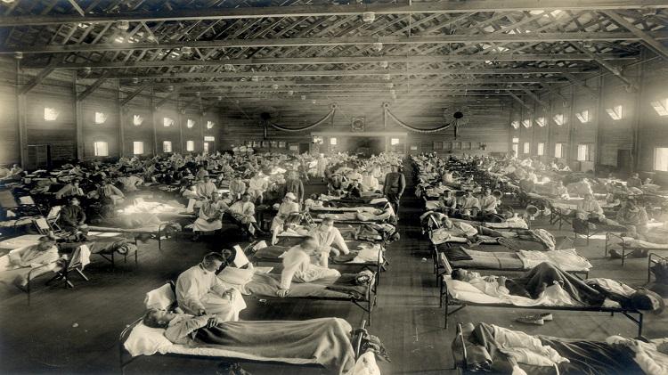 Spanish Flu hits Troops!