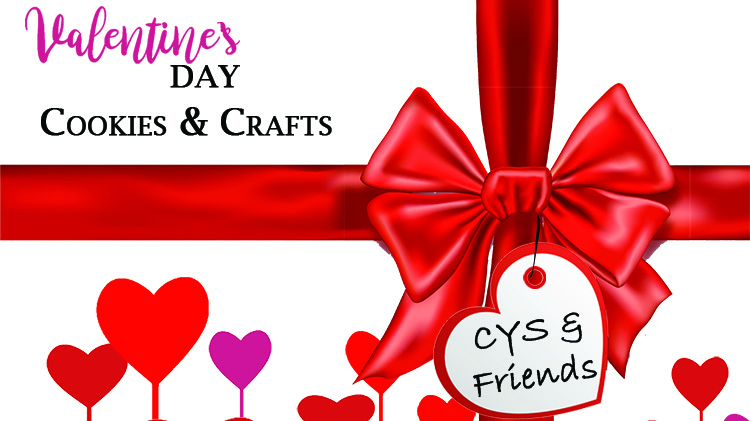 Valentine's Day Cookies & Crafts