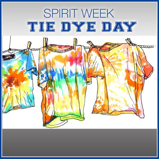 CYS Tie Dye-Spirit Week