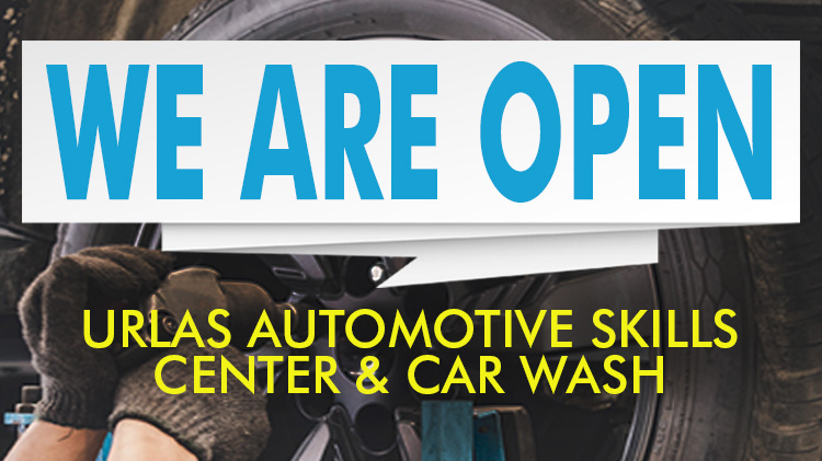 Automotive Skills Center and Car Wash is OPEN!
