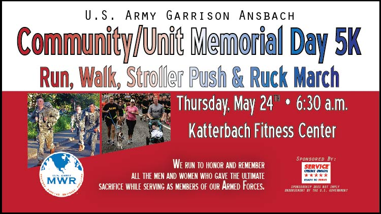 Memorial Day 5K Run/Walk