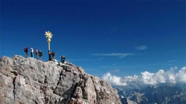 Alpine Hike to Zugspitze
