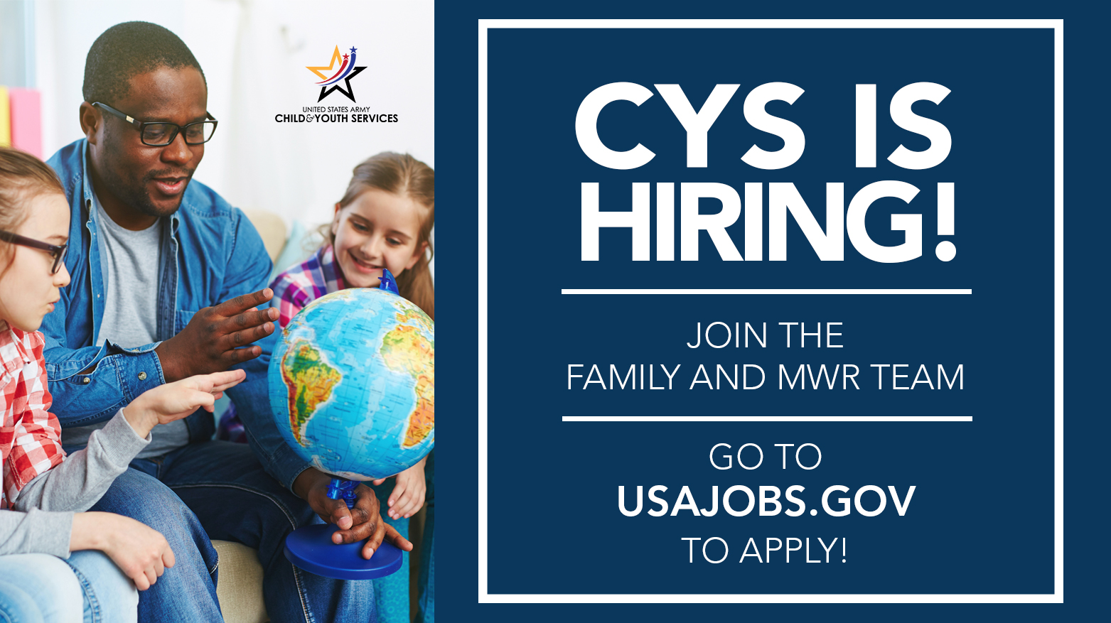 CYS is Hiring!